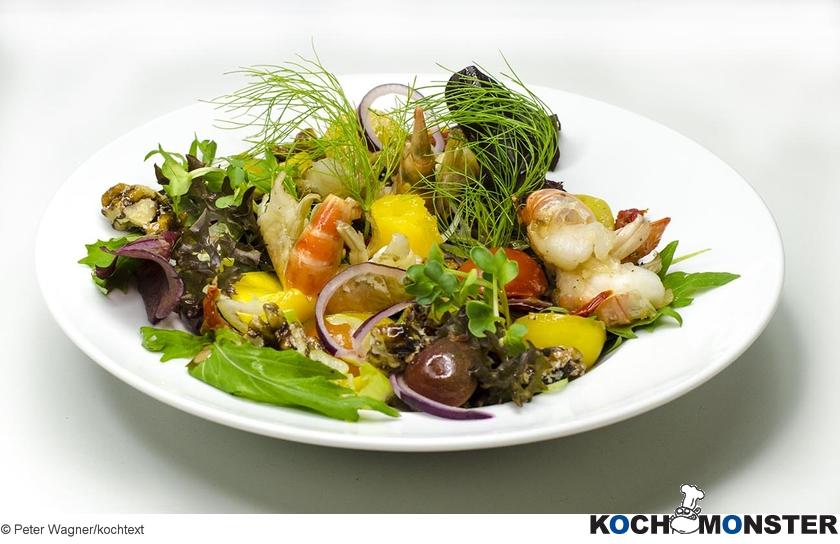 Salat 4 Jahreszeiten Kochmonster Deutschlands Erstes