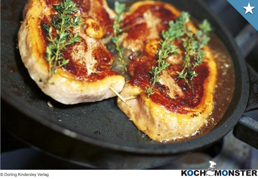 Lammkoteletts Mit Kräuterbutter Kochmonster Deutschlands Erstes