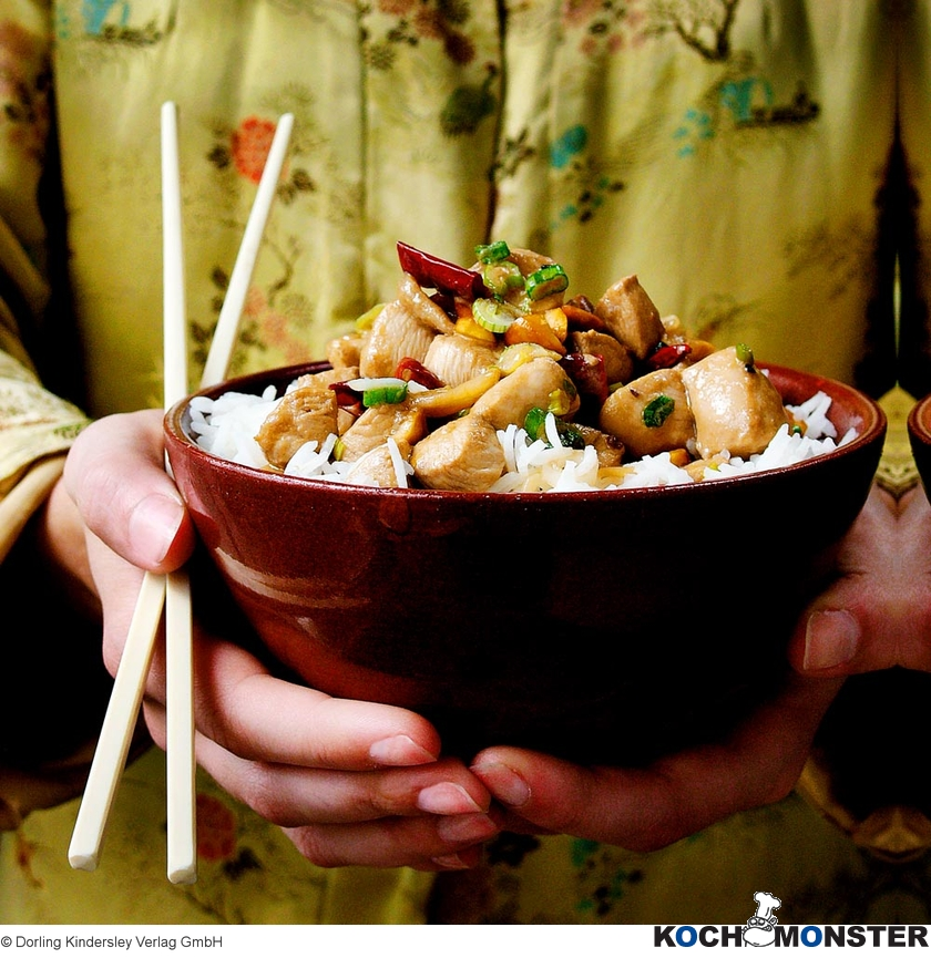 Gong-bao-Huhn - KOCHMONSTER | Deutschlands erstes Kochportal für Männer